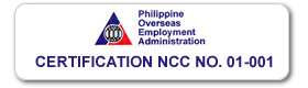 POEA Certification 001